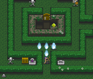 Find hidden treasures and spells in The Wizard!